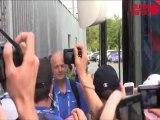 France - Serbie : l'arrivée des Braqueuses