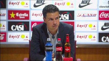 Rueda de prensa de Sergio Lobera  - Vídeos de Grankanario del UD Las Palmas