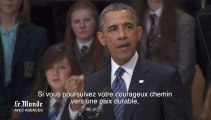 Barack Obama encourage le processus de paix en Irlande du Nord