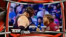 HD The Shield vs Daniel Bryan and Randy Orton Tag Team title match