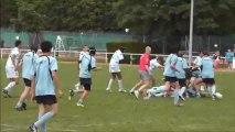 MLSGP - Racing Finale Tournoi Jo Urquia Minimes Rugby -15 ans 1ere mi-temps