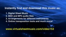 Beethoven's Fur Elise sheet music - Video Score - video dailymotion