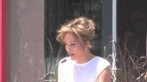 Jennifer Lopez Receives Hollywood Star