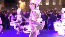 Lighting drums show for corporate events