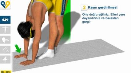 İlyotibyal kasın stretching'i