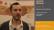 Philippe Thiebaut, Chargé d'étude, service connaissance et planification de l'Agence de l'eau Adour Garonne : Pollution des sols et de l'eau : vers une amélioration...