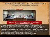 Data: 17/06/2013 - Sessão Ordinária da Câmara de Vereadores de Cândido Mota - Leitura e encaminhamentos de projetos.