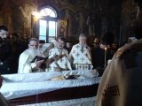 Parastas la capatiul Parintelui Justin - Sfantul lui Dumnezeu de la Petru Voda
