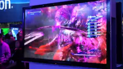 E3 Bayonetta 2 Wii U gameplay
