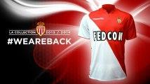 AS Monaco : nouveau logo et nouveau maillot !