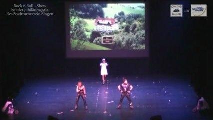 Rock´n´Roll Show von Sonja & Martin bei der Jubiläumsgala des Stadtturnverein Singen