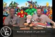 Musico Grapheek - Épisode 19 - Émissions de superhéros et de jeux vidéos