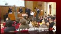 """TV3 - Dilluns a les 23.00 - """"La marató dels investigadors"""" a TV3"""