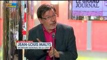 Jean-Louis Malys et Eric Aubin dans Le Grand Journal - 19 juin 1/4
