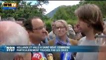 François Hollande auprès des victimes des crues dans le Sud-Ouest - 20/06