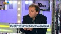 Plus-values de cessions immobilières: J.F. Filliatre et O.Marin dans Intégrale Placements - 20 juin