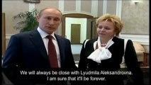 Vladimir Putin announces separation from wife Lyudmila - video