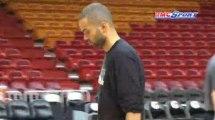 NBA / Dernier entraînement des Spurs - 20/06