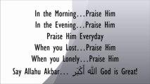Zain Bhikha ♥Praise Be to my Lord Allah♥ ♥ZY♥
