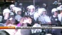 Brésil : Un million de personnes dans les rues