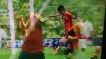 espagne vs tahiti (10-0) but de David Villa et Torres