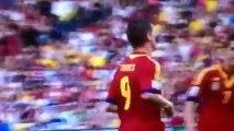 espagne vs tahiti (10-0) les buts  david villa et torres