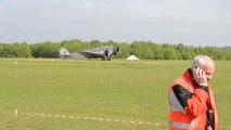 Atterrissage du Junkers JU 52, meeting de la Ferté Alais 2013