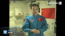 """Une """"institutrice"""" chinoise qui fait cours en direct depuis l'espace"""