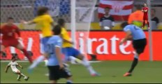 Brasil vs Uruguay Gol de Cavani - Copa Confederaciones