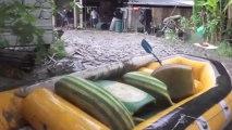 Agos-Vidalos : Les crues ravagent une base de Rafting