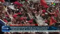 """Nombran calle """"Hugo Chávez Frías"""" en ayuntamiento dominicano"""