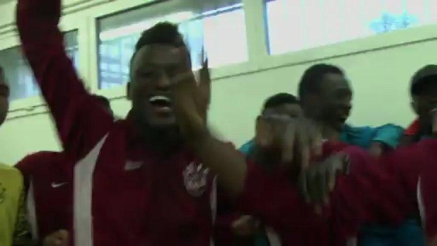 Gros plan sur les U17 de la Jeunesse d'Aubervilliers qui accèdent au championnat National