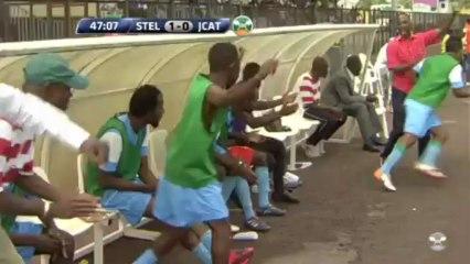 Résumé STELLA - JCAT 2-1 (Ligue1 CIV J24)