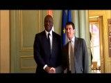 SECURITE Paris: le Ministre d'Etat, Ministre de l'intérieur Hamed Bakayoko a été reçu vendredi en audience par son homologue français, Manuel Valls