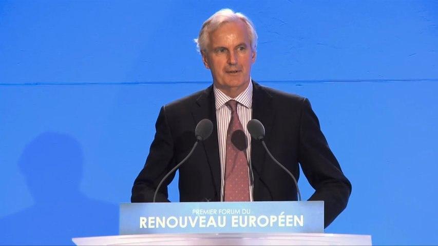 Forum du renouveau européen - Intervention de Michel Barnier