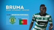 Bruma, la nouvelle starlette du Portugal et du Sporting !