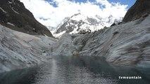 Mont-Blanc 2013 Mer de Glace Chamonix Montenvers école de glace