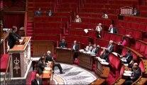 JC Lagarde dans l'hémicycle pour le projet de loi consommation et son volet sur le surendettement