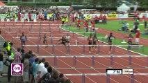 100m haies Meeting Besançon 2013
