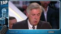 Le zapping de Carlo Ancelotti au PSG