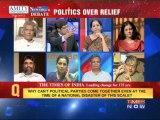 The Newshour Debate: Debate: Politics over relief (Part 2 of 4)