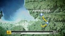 FR - Analyse de l'étape - Étape 11 (Avranches > Mont-Saint-Michel)