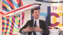 Les 50 ans Falcon - Interview de Luc Berger - Bourget 2013 - Dassault Aviation