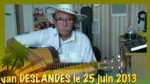 Yvan DESLANDES - La montagne de Jean FERRAT extrait