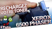 Comment recharger les cartouches laser de Xerox Phaser 6500