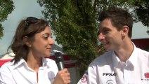 Eric Camilli et Charlotte Berton. Rencontre de deux lauréats Rallye Jeunes