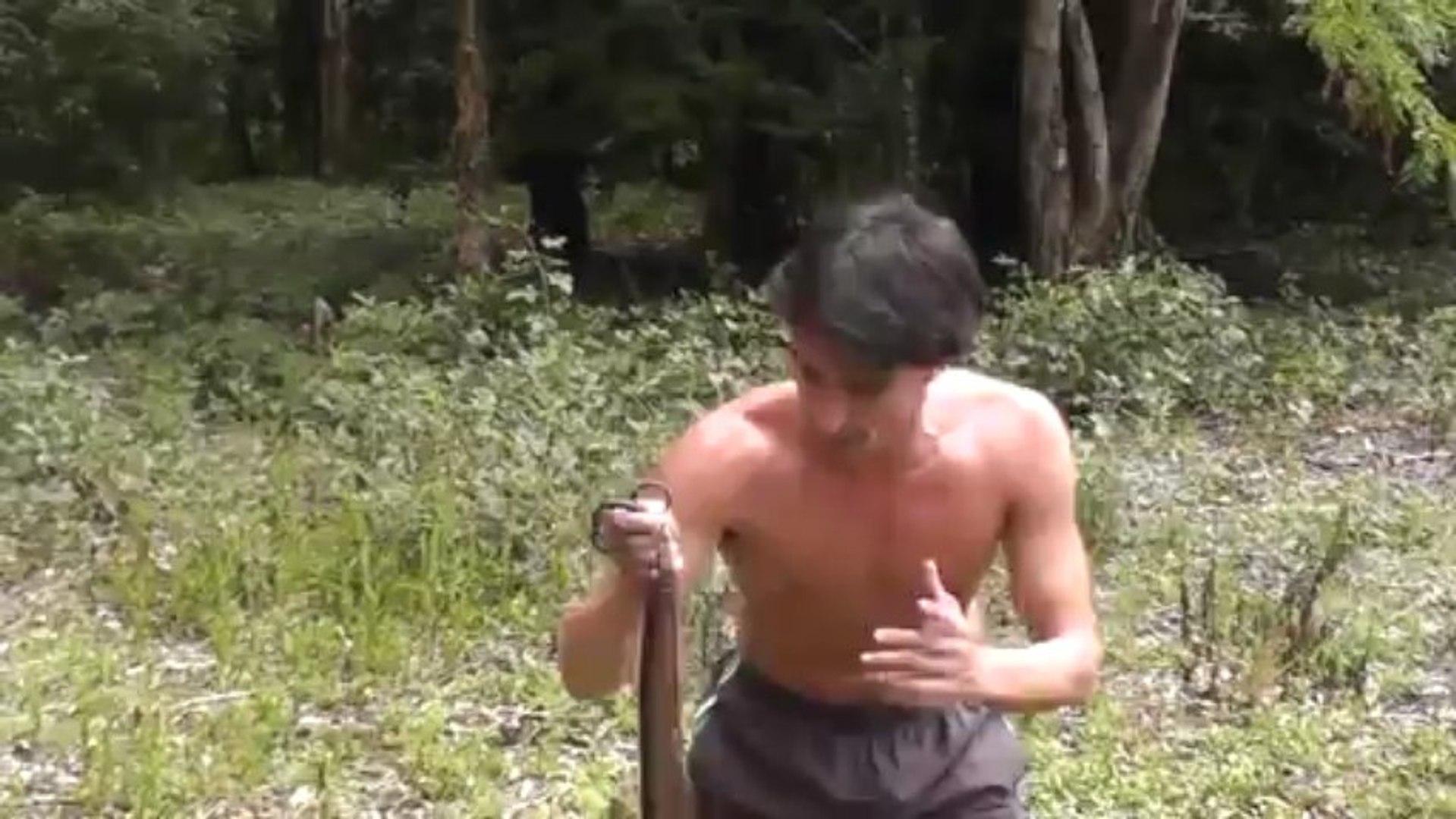 Catching Wild Rabbits using Snakes BAREHANDED Rabbit hunting