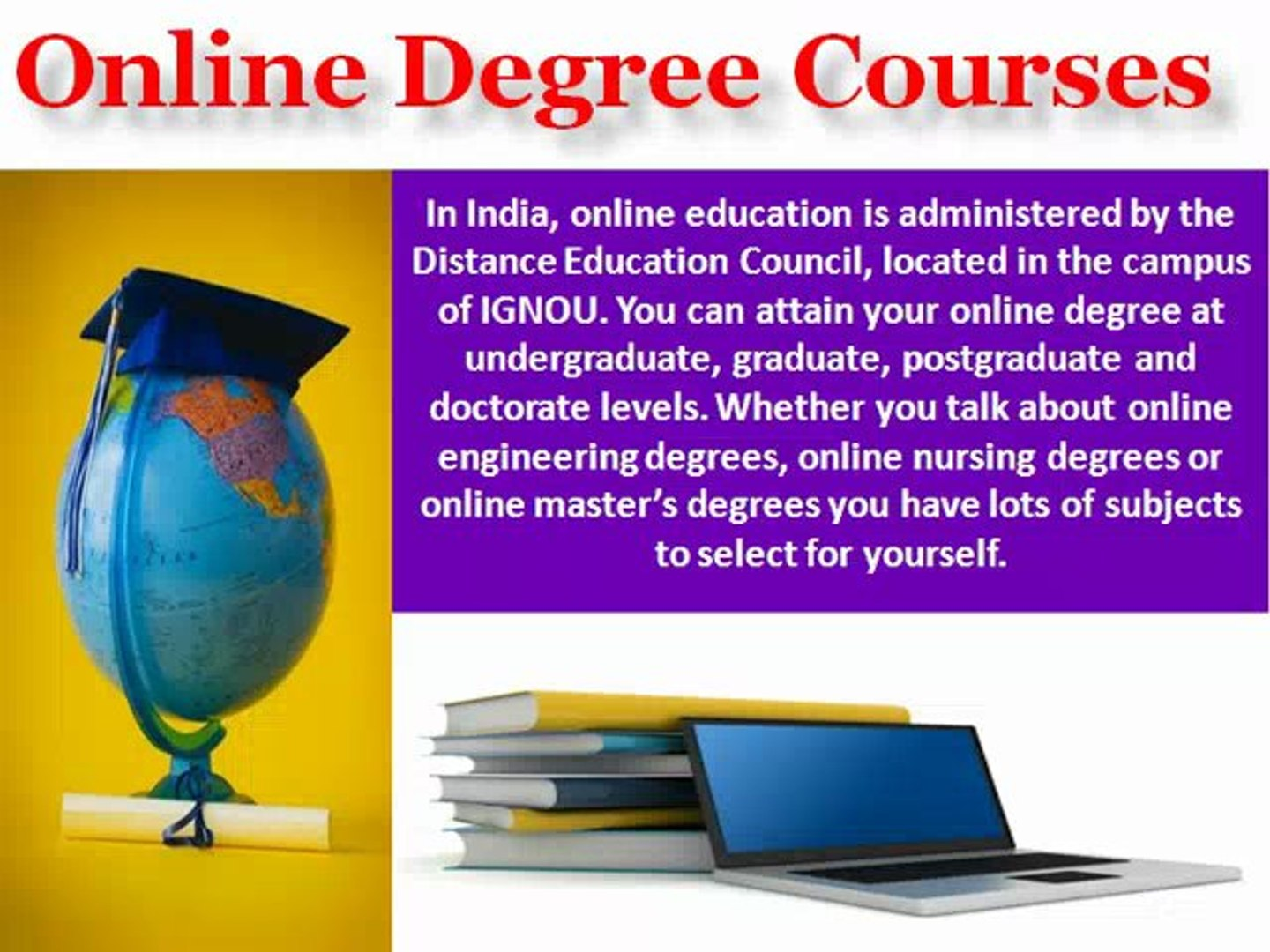 Improve Your Career Growth With Online Degree Courses