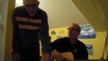 Polnareff et Johnny Halliday par Jean-Marie Couderc