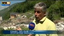 Inondations: un hôtel menace de s'effondrer à Barèges - 26/06
